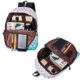Uideazone School Bookbags for girls Cute Fish