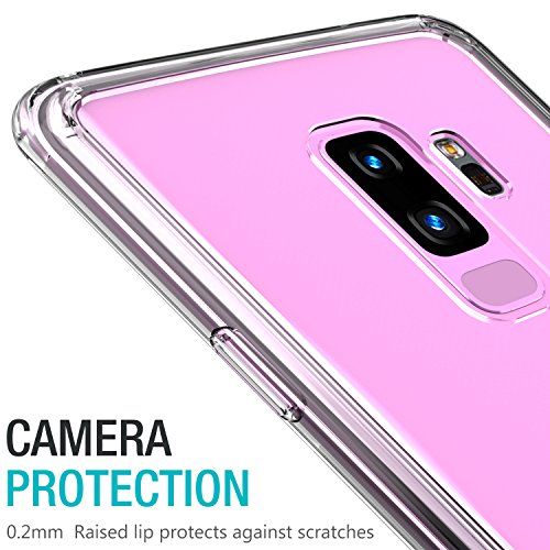 watch 65678 7ba21 TOZO for Samsung Galaxy S9 Plus Case, PC + TPU Hybrid - Import It All