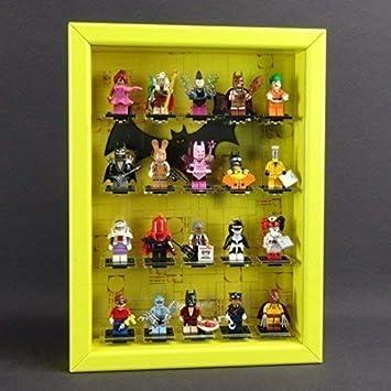 Caja para Figuras Vitrina de Colección para Lego Serie 71017 Minifiguras Serie Batman Amarillo: Amazon.es: Juguetes y juegos