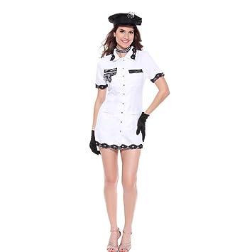 Liu Sensen Ropa Interior para Mujeres Escuela Juego De Uniforme De Uniforme De Policía De La
