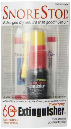 Snorestop Extinguisher 0 3 Ounce Tubes Pack product image