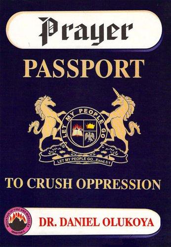 Prayer Passport Crush Oppression Olukoya ebook product image