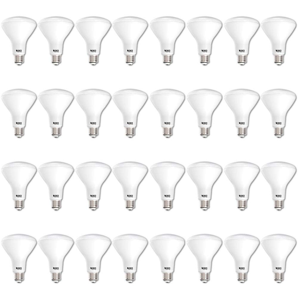 Sunco Lighting 32 Pack BR30 LED Bulb 11W=65W, 5000K Daylight, 850 LM, E26 Base, Dimmable, Indoor Flood Light for Cans - UL & Energy Star