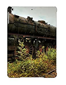 (glqmhp-5257-wkmicxg)durable Protection Case Cover With Design For Ipad Air(old Rusty Train )