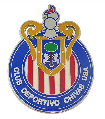 Club Deportivo Chivas Die Cut Usa Belt Buckle Football Team Soccer Loving Men