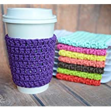 Coffee Cup Cozy, Reusable Coffee Sleeve, Hot Cup Sleeves
