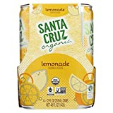 SANTA CRUZ ORGANIC, LEMONADE, OG2, SPARKLING - Pack of 6