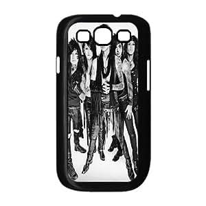 Diy Customized Phone Case Black Veil Brides Pattern for samsung galaxy s3 Black