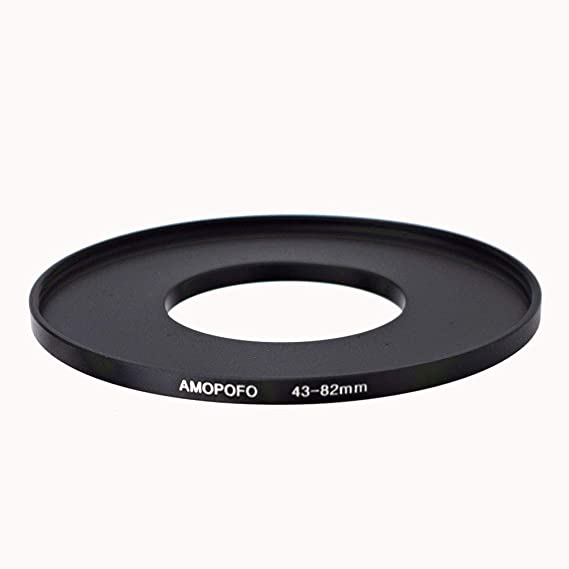 Made of CNC Machined Brass with Matte Black Electroplated Finish Breakthrough Photography 52mm to 77mm Step-Up Lens Adapter Ring for Filters