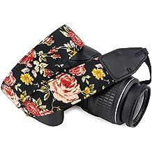 Wolven Cotton DSLR/SLR Camera Neck Shoulder Belt Strap for Nikon,Canon,Sony,Pentax,Olympus,Leica Etc