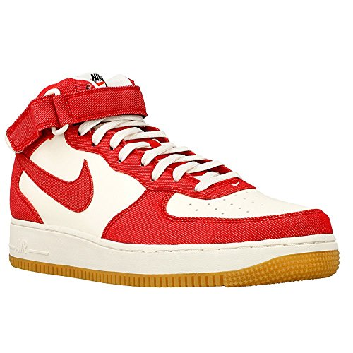 Force Mid Air Red Basketball '07 1 Nike Men's Shoe qARSBZE