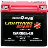 Power Source 01-352P WPX20L-LS Lightning Start Battery