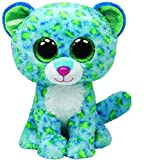 Best Beanie Boos - Ty Beanie Boos Leona Blue Leopard Regular Plush Review