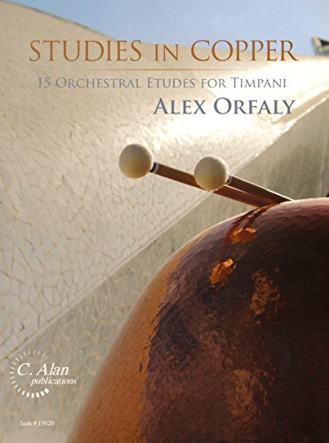 15020 - Studies in Copper - 15 Orchestral Etudes for Timpani