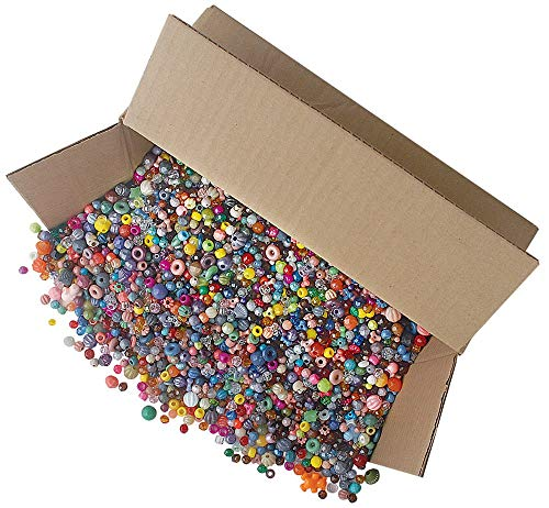 The Beadery Bonanza 5LB of Mixed Craft Beads, Sizes, Multicolor (Тhree Pаck) by The Beadery (Image #1)