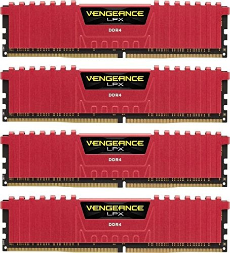 13 opinioni per Corsair CMK32GX4M4B3466C16R Vengeance LPX Kit di Memoria per Desktop a Elevate