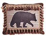 Carstens Bear with Tassel Fringe Pillow Review