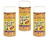 USDA Organic Garlic Gold Nuggets, Roasted Garlic Seasoning Granules, Sodium Free & MSG Free, Vegan 2.1-Ounce Jar (Pack of 3)
