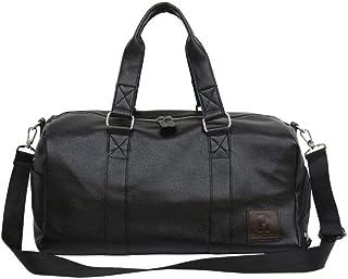 GFLD Travel bag portable waterproof PU men and women sports gym bag short-distance light luggage bag