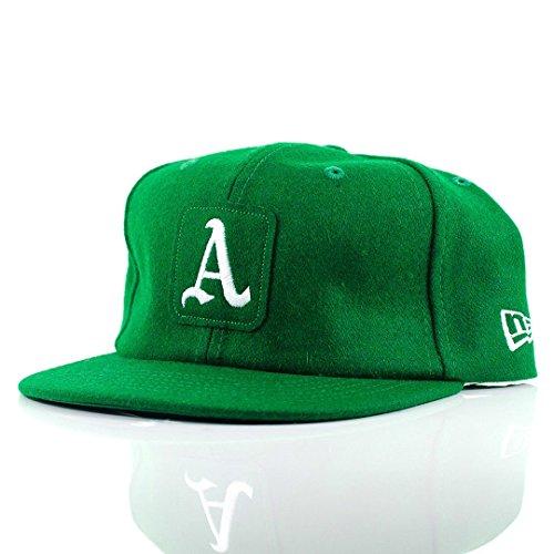 New Era - Gorra de béisbol - para hombre verde verde 7 1/4