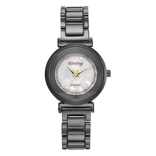BOBOLover Reloj Deportivo de Lujo para Mujer Correa de Cuero Pantalla Analógica Digital Relojes Relojero Inteligente Reloj Reloje Mujer Relojes de Pulsera ...
