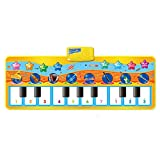 LOBZON Keyboard Piano Mat, 8 Selectable Musical Instruments - Play - Record - Playback - 9 Selectable Demo - mode