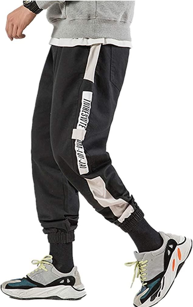 Herren Hosen Sommer Hose Trainingshose Cargo Pants Jogginghose Sweatpants Jogger Freizeit Laufen Streifen Enger Beinabschluss Pants Sports Fitnesshose Bodybuilding Yoga Sporthose