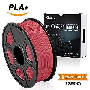 3D Printer Filament PLA Plus,PLA Plus Filament 1.75 mm SUNLU,Low Odor Dimensional Accuracy +/- 0.02 mm,2.2 LBS (1KG) from SUNLU