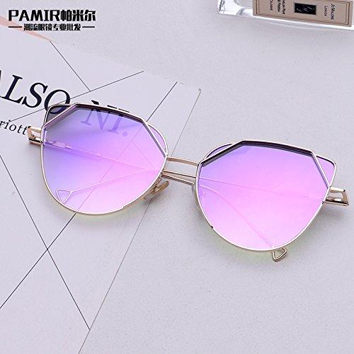 Sol Hombre Cuadrada Sol Transparente Xue Transparent Cuadrado De Gafas Hembra De Polarizador Gafas Caja zhenghao B qA0wTt