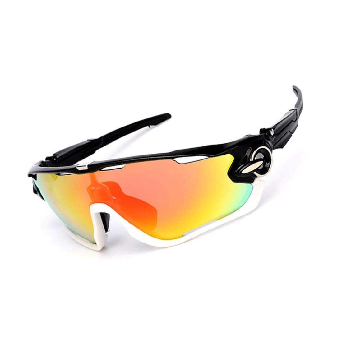 BAOYIT Men and Women Goggles Polarized Sunglasses Outdoor Riding Glasses Sports (Color : K) by BAOYIT