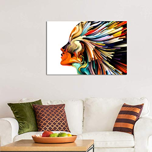 Soul Style Canvas Wall Art - Ready to Hang - Home Office Decor Picture Prints for Living Room, Bedroom - 36