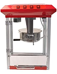 Giantex 8oz Deluxe Popcorn Popper Maker Machine Red Table Top Tabletop Theater (Sliver)