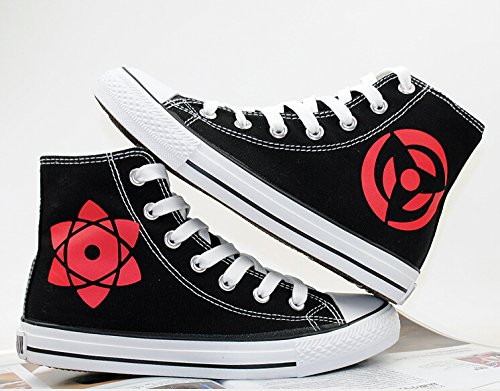 Naruto Anime Hatake Kakashi Sharingan Cosplay Schuhe Leinwand Schuhe Turnschuhe