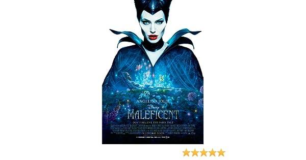 Maleficent Movie Poster 2 Sided Original Intl 27x40 Angelina Jolie