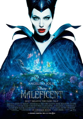 Maleficent Movie Poster 2 Sided Original Intl 27x40 Angelina Jolie