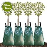 Remiawy Tree Watering Bag, 20 Gallon Slow Release Watering Bag for Trees, Tree Irrigation Bag Made of Durable PVC Material with Zipper