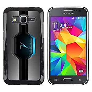 LECELL -- Funda protectora / Cubierta / Piel For Samsung Galaxy Core Prime SM-G360 -- Blue Glow --