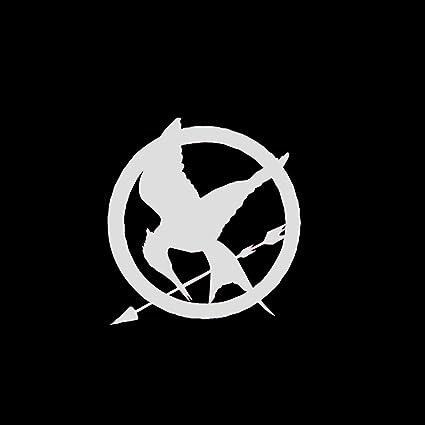 Amazon Com Hunger Games Mockingjay Symbol Car Window Decal