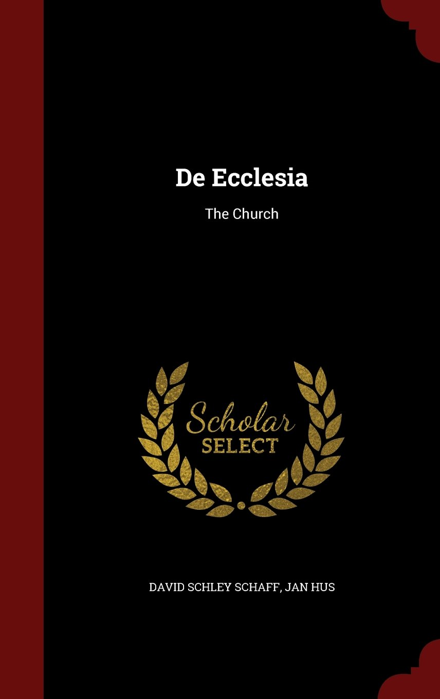 Download De Ecclesia: The Church pdf epub