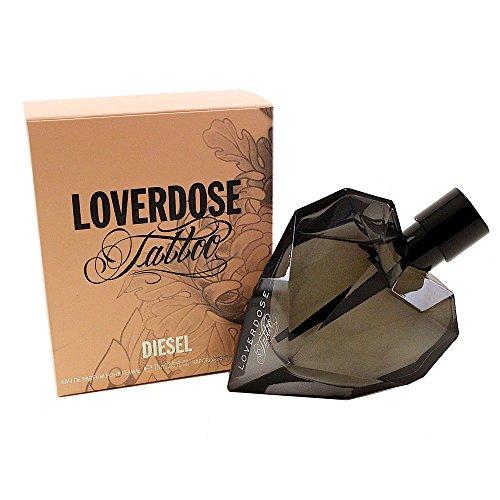Diesel Loverdose for Women, Tattoo, 2.5 Ounce