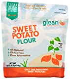 Glean 100% All Natural Gluten Free, Sweet Potato Flour and Super Food Powder - Paleo 16 oz (1 lb) - No Added Sugar