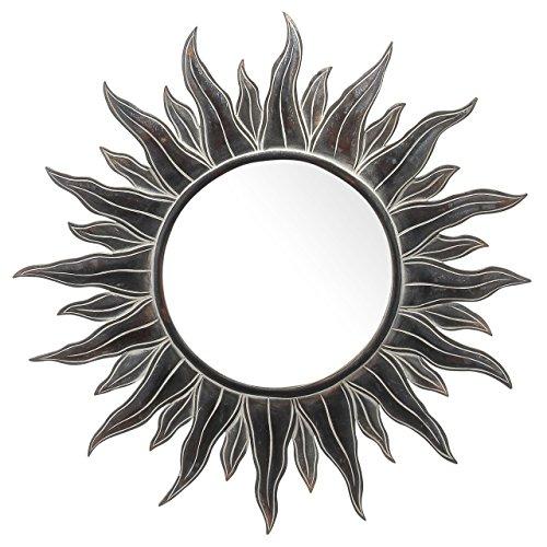 Apollo Antiqued Sun Mirror 38 Inch
