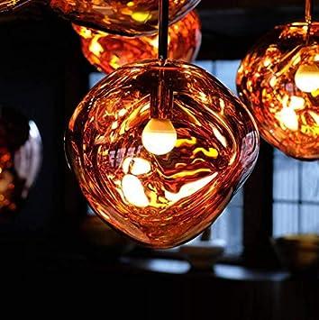 Wuzhong F Suspension Nordic Chandelier Salon /Éclairage Concepteur Pendentif Postmoderne Creative Minimaliste Restaurant Caf/é Lava Plafond