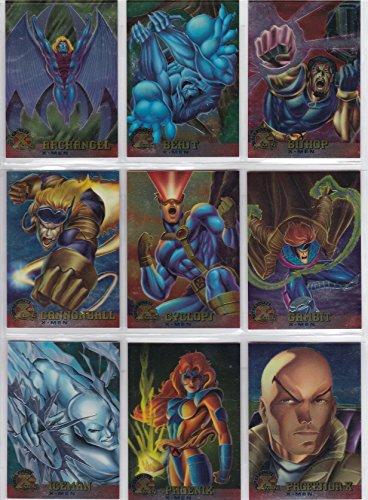 1995 Fleer Ultra X-Men Chromium Base Set of 100 Cards NM/M Marvel
