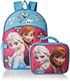 Best Frozen Backpacks - Disney Frozen Girl's Backpack with Detachable Lunchbox Set Review