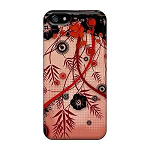 New Style AnnetteL Vector Vines Premium Tpu Cover Case For Iphone 5/5s