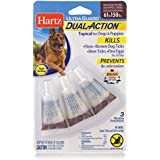 Hartz UltraGuard Dual Action Topical Flea & Tick Prevention for Dogs and Puppies - 31-60 lbs, 3 Monthly Treatments