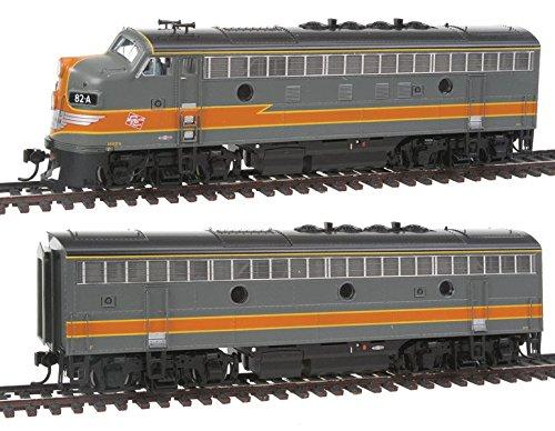 EMD F3 A/B locomotive set w/Sound and DCC - Milwaukee Road #80A & 80B