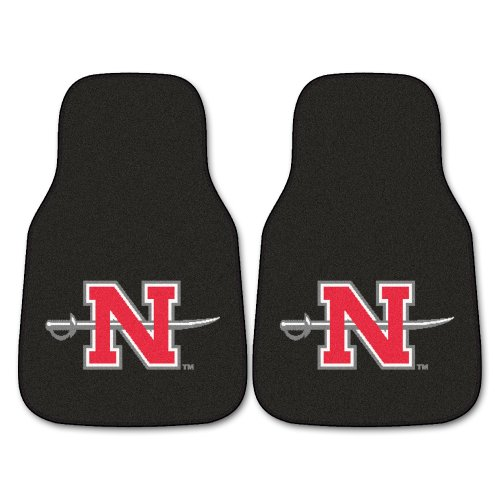 FANMATS NCAA Nicholls State University Colonels  Nylon Face Carpet Car - Basketball Colonels