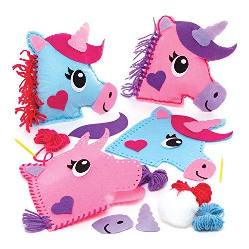 Kit para crear cojines de unicornio | En casa con peques